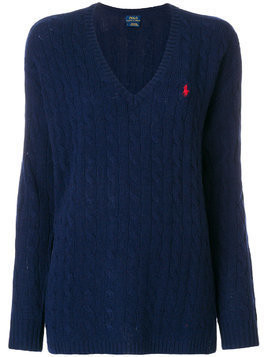 Polo Ralph Lauren cable-knit sweater - Blue