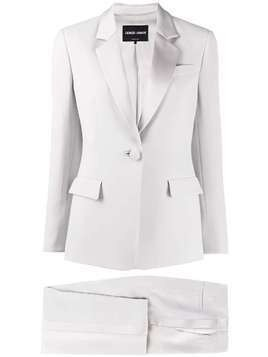 Giorgio Armani trousers suit set - Grey