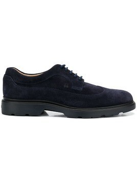 Hogan suede Derby shoes - Blue