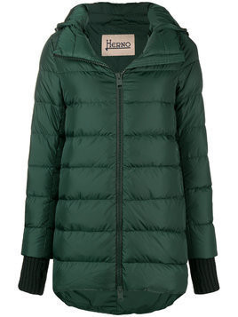 Herno padded hooded jacket - Green