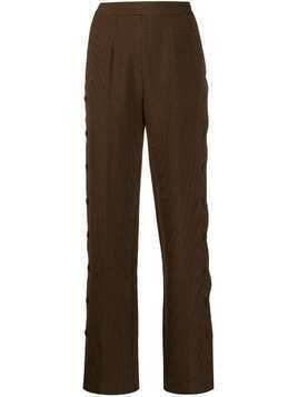 Markus Lupfer Gemma tailored trousers - Brown