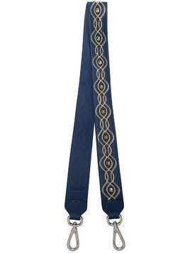 Orciani chain trim bag strap - Blue