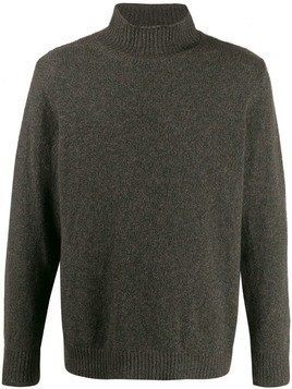 Caruso roll neck sweater - Green
