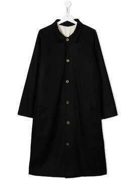 Little Creative Factory Kids TEEN single-breasted coat - Black