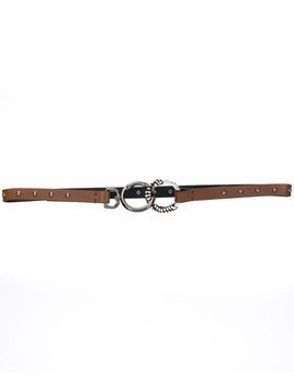 Dorothee Schumacher ring clip belt - Brown