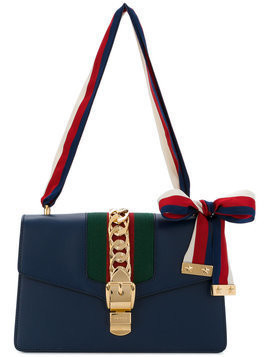 Gucci - Sylvie shoulder bag - Damen - Leather - One Size - Blue