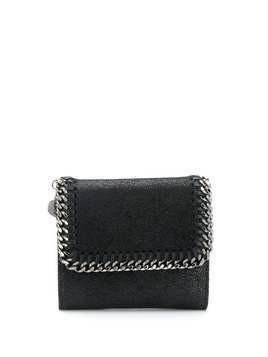 Stella McCartney small Falabella flap wallet - Black