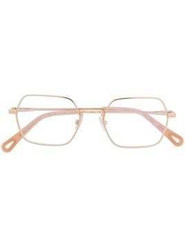 Chloé Eyewear square shaped glasses - Gold