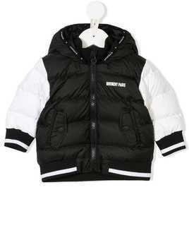 Givenchy Kids hooded padded jacket - Black
