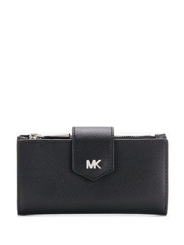 Michael Michael Kors logo plaque purse - Black