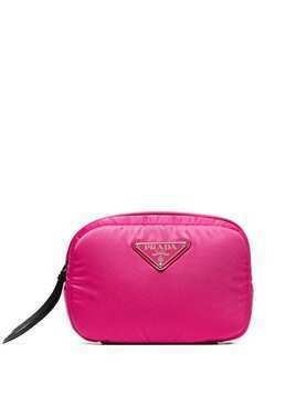 Prada logo plaque belt bag - Pink