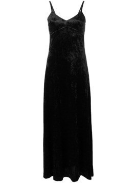 Michael Michael Kors spaghetti strap long dress - Black