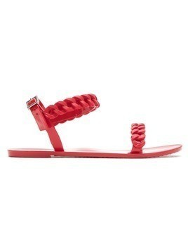 Blue Bird Shoes Jelly braided sandals - Red