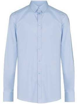 Dolce & Gabbana spread collar tailored shirt - Blue