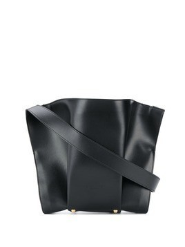 Giaquinto leather panelled tote - Black