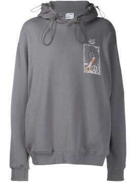 C2h4 Human Data Storage hoodie - Grey