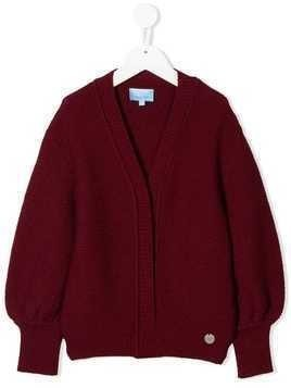 Lanvin Enfant knit cardigan - Red
