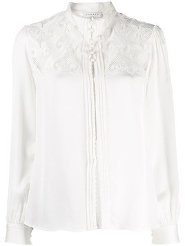 Sandro Paris embroidered shirt - White