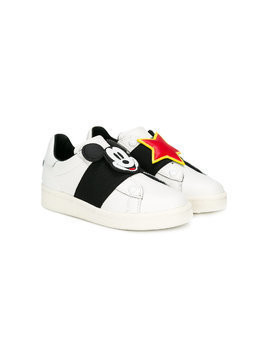 Moa Kids Micky Mouse sneakers - White