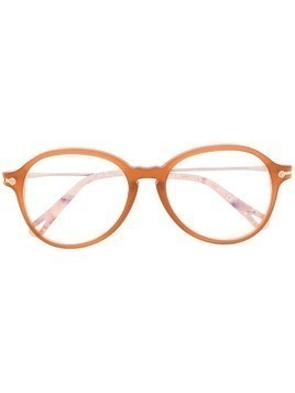 Chloé Eyewear round framed glasses - Brown