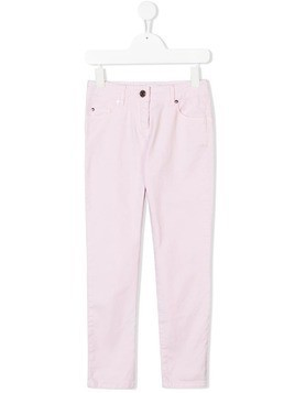 Givenchy Kids slim fit jeans - Pink & Purple