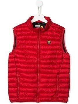 Ciesse Piumini Junior zipped padded waistcoat - Red