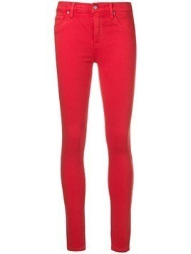 Hudson skinny fit jeans - Red