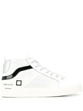 D.A.T.E. hi-top sneakers - White