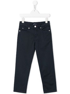 Harmont & Blaine Junior classic slim-fit jeans - Blue