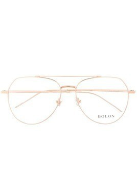 Bolon aviator glass frames - Gold