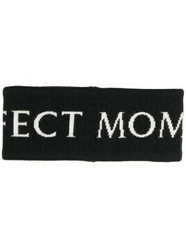 Perfect Moment logo merino headband - Black