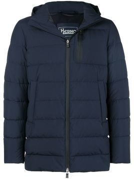 Herno hooded padded jacket - Blue