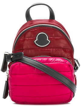 Moncler Georgine quilted backpack - Pink & Purple