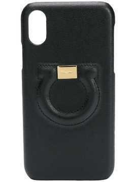 Salvatore Ferragamo Gancini iPhone X cover - Black