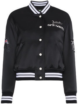 Off-White Bomber jacket with eagle detail - Black