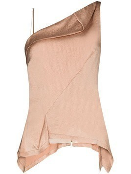 Roland Mouret Fira draped top - PINK