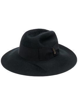 Borsalino cashmere knit hat - Black
