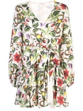 Borgo De Nor Olivia wrap dress - Multicolour