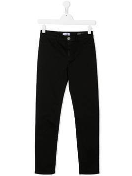 Dondup Kids straight-leg jeans - Black