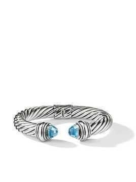 David Yurman Cable Classics topaz 10mm cuff - SSABT