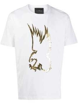 John Richmond eagle embroidered T-shirt - White