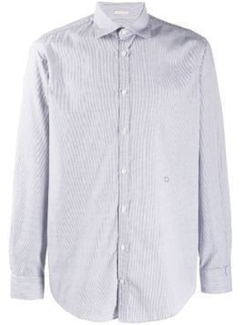 Massimo Alba long-sleeve fitted shirt - Blue