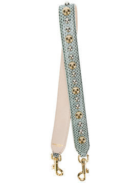 Dolce & Gabbana studded bag strap - Grey