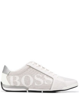 Boss Hugo Boss lace up sneakers - White