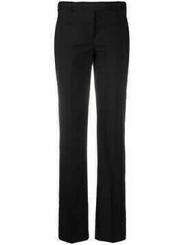 Helmut Lang Pre-Owned 2000s slim-fit trousers - Black