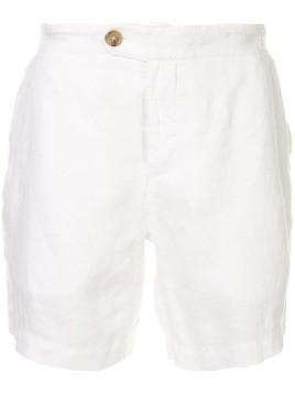 Venroy side tab shorts - White
