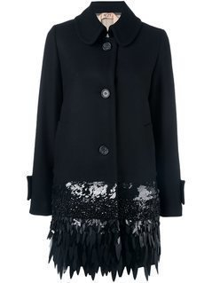 Nº21 Embellished Mid Coat