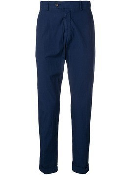 Berwich cropped trousers - Blue