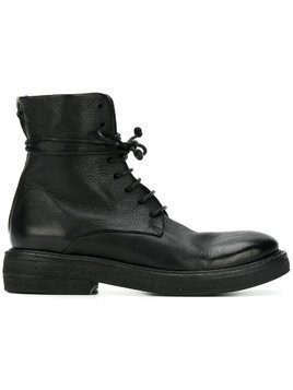Marsèll lace-up fitted boots - Black
