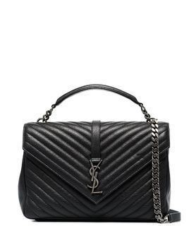 Saint Laurent large College tote - Black